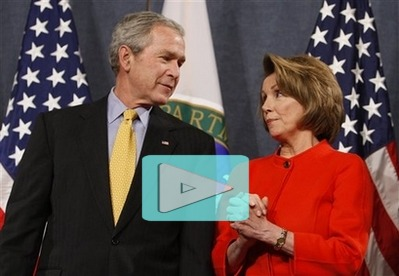 Bush and Pelosi