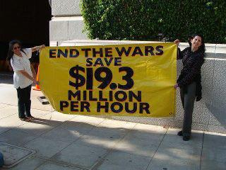 End The Wars, Save $19 million per hour