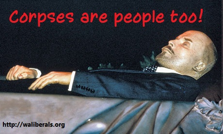 Lenin corpse: corpses are people too!