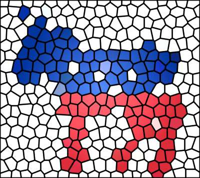 Dems Stained Glass by Don Smith