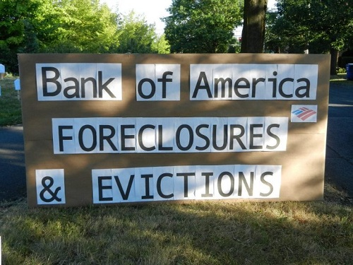 BOA Foreclosures & evictions