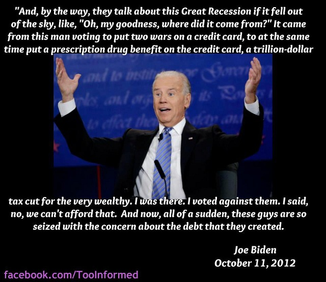 Joe Biden summarizes GOP lies