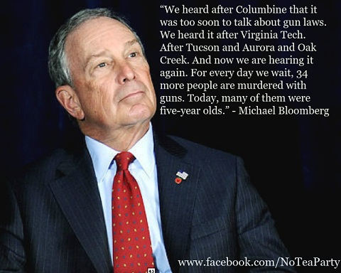 Mayor Bloomberg: now is the time to stop guns