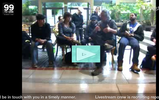 Occupy Seattle Live Stream