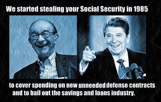 We started stealing from Social Security
