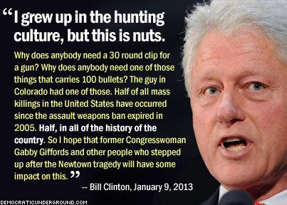 Bill Clinton on guns