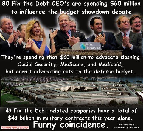 Fix the Debt CEOs are greedy bastards