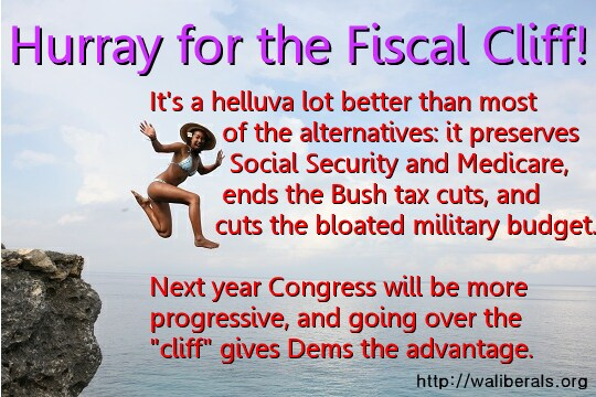 Jump for the fiscal cliff!