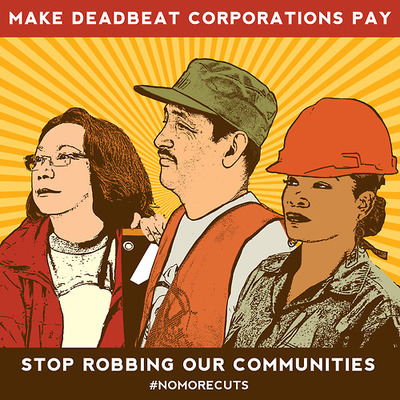 Make Deadbeat Corporations Pay