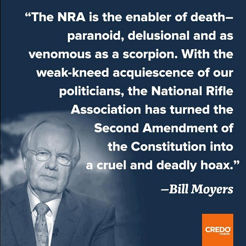 Bill Moyer on the NRA