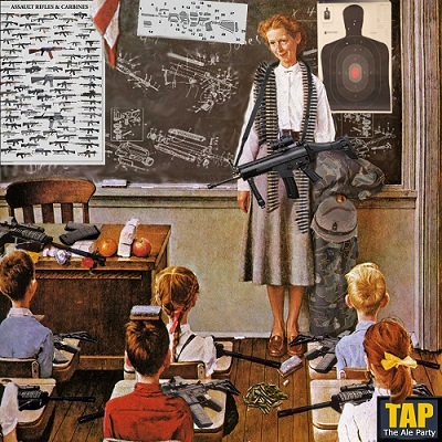 Teacher with Gun