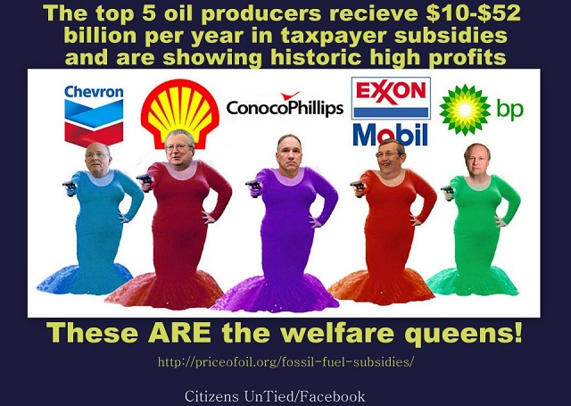 The Real Welfare Queens: Big Oil