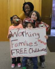 Working families deserve free childcare