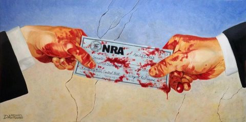 NRA blood money