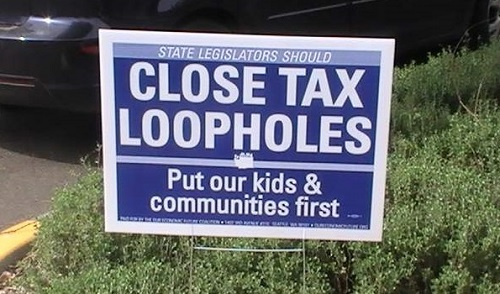 Close tax loopholes: put our kids and communities first
