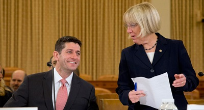 Paul Ryan and Patty Murray are pictured. | AP Photo