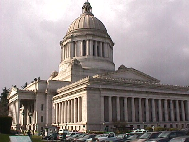 Capitol building in Olympia, WA