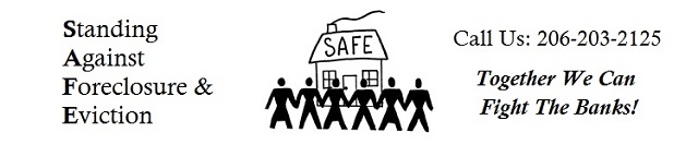 SAFE: Standing Against Foreclosure and Eviction
