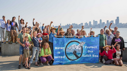 Water is Sacred. Protect our Salish Sea.